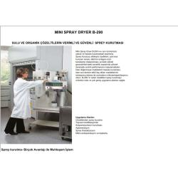 Büchi B290 Mini Spray Dryer Turkce Katalog