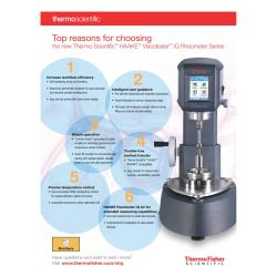 Top Reasons for Choosing Haake Viscotester iQ Rheometer